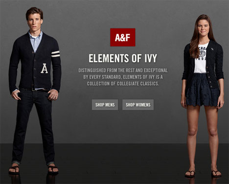 abercrombie fitch the key elements The origin of the crisisthe reputation crisis for abercrombie & fitch emerged at  the beginning of may  the main ingredients of this viral story.