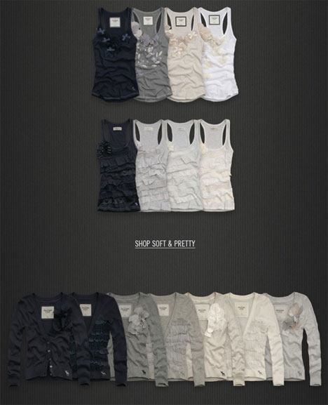 Abercrombie Fitch Soft and Pretty Spring