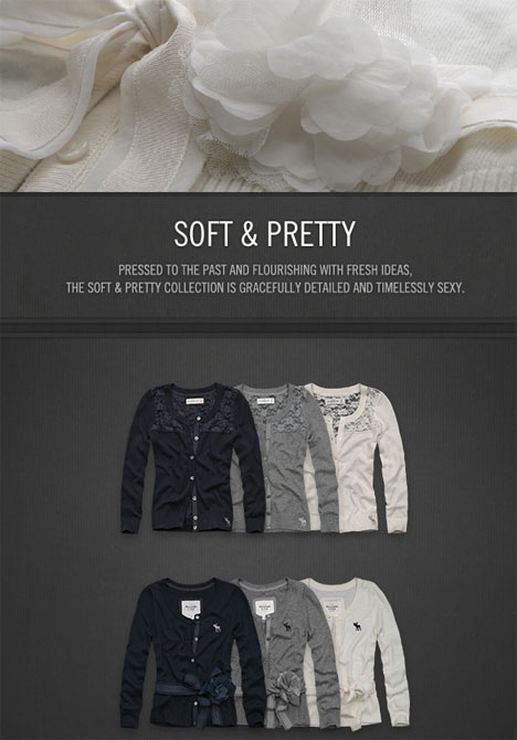 Abercrombie Fitch Soft and Pretty Collection