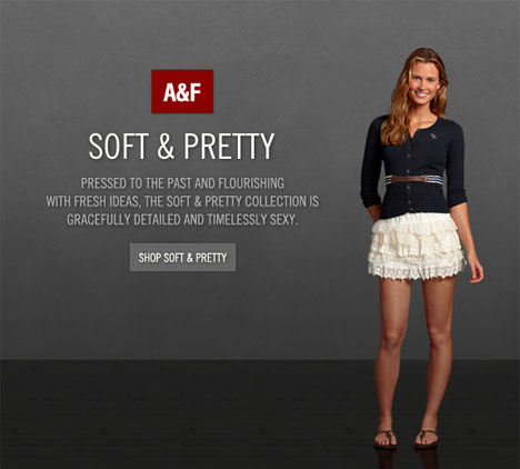 Abercrombie Fitch Soft and Pretty Compliments