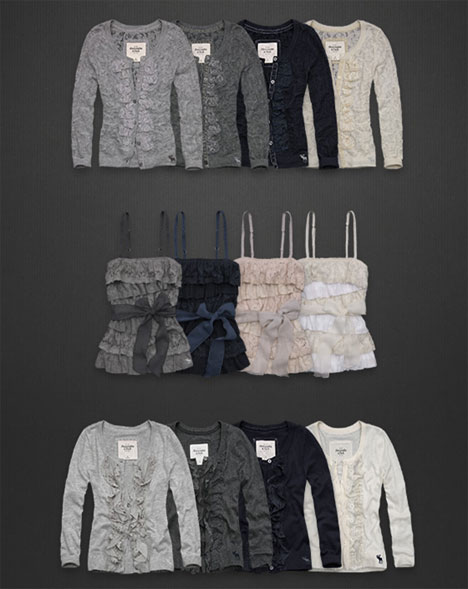 Abercrombie Fitch Soft and Pretty Fall