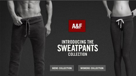 Abercrombie Fitch Introducing Sweatpants