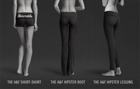Abercrombie Fitch Perfect Butt Yoga