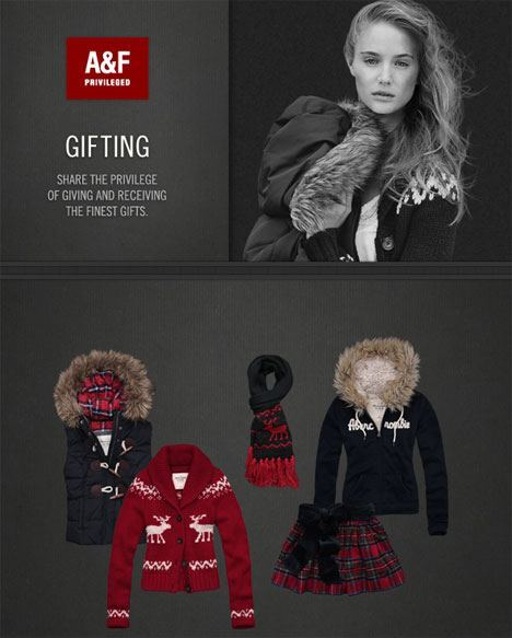 Abercrombie Fitch Gifting