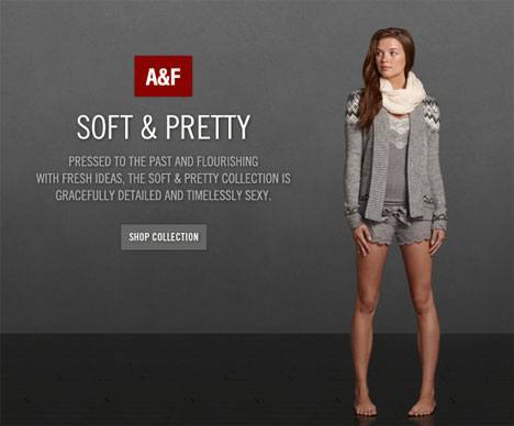 Abercrombie Fitch Soft Pretty