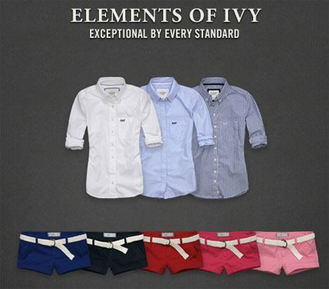 Abercrombie Fitch Ivy League