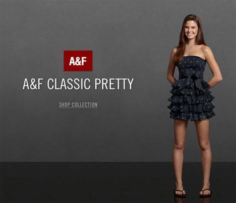 Abercrombie Fitch Classic Pretty