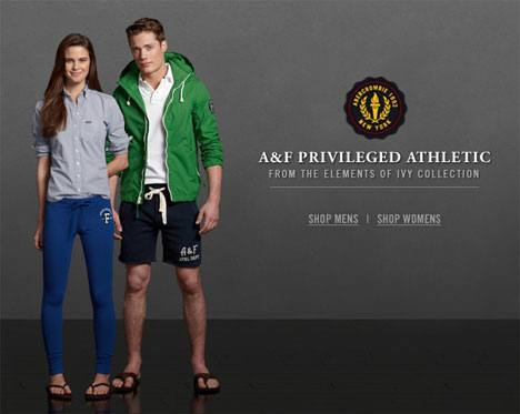 Abercrombie Fitch Privileged Athletic