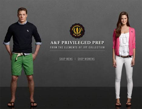 Abercrombie Fitch Spring looks