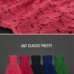 Abercrombie Fitch Prettiest Dresses