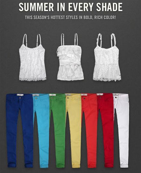 Abercrombie Fitch Summer in Every Shade