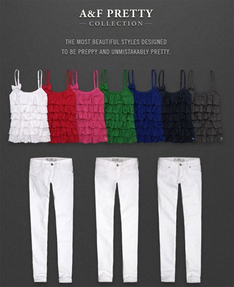 Abercrombie Fitch Pretty Collection