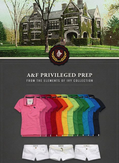Abercrombie Fitch Privileged Prep