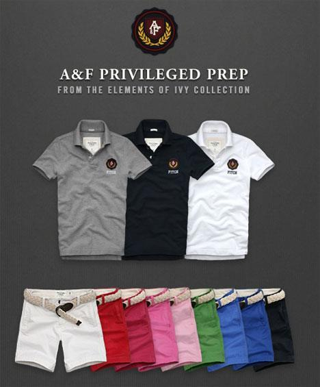 Abercrombie Fitch Privileged Prep Summer