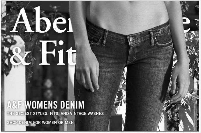 Abercrombie & Fitch Womens Denim 2008
